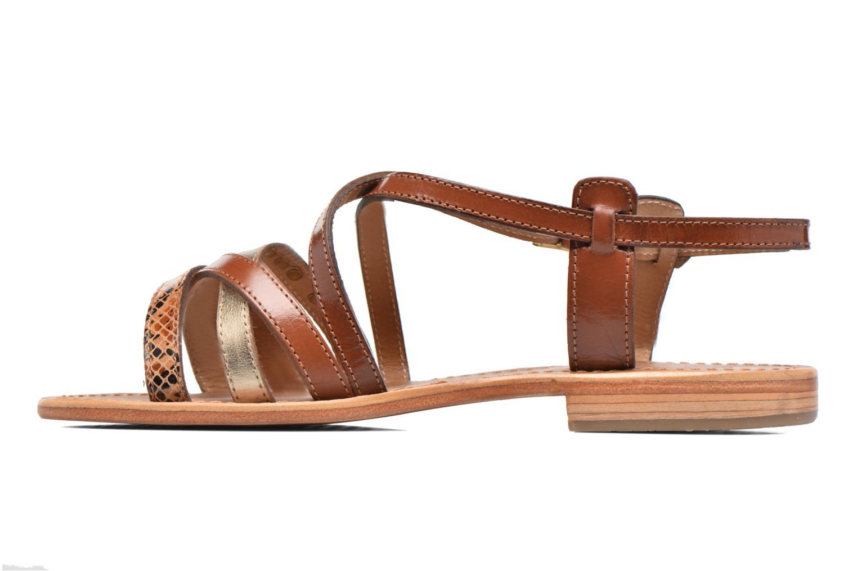 Sandals Les Tropéziennes par M Belarbi Hapax Brown front view