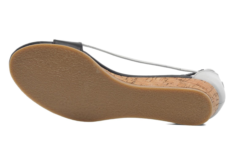 Sandales et nu-pieds Kickers Cocola Noir vue haut
