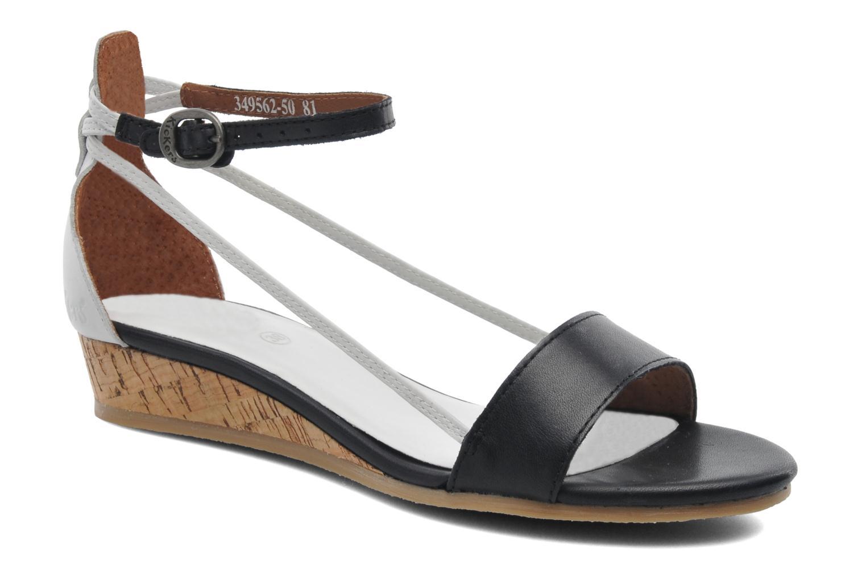 Sandales et nu-pieds Kickers Cocola Noir vue détail/paire