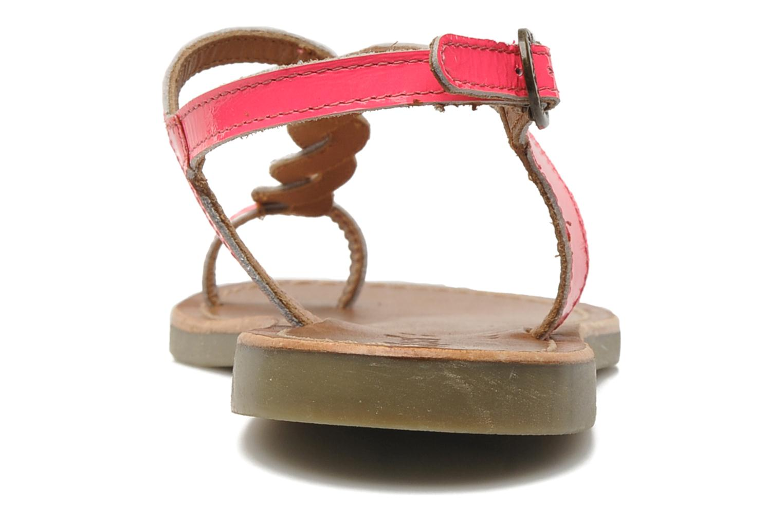 Sandalen Kickers Djinny Roze rechts