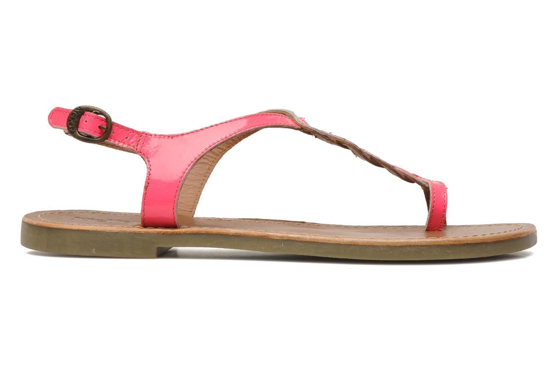 Sandalen Kickers Djinny Roze achterkant
