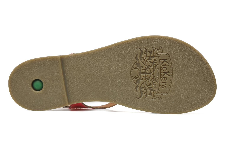 Sandalen Kickers Djinny Roze boven