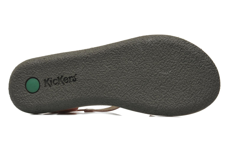 Sandalen Kickers Spartame Rood boven