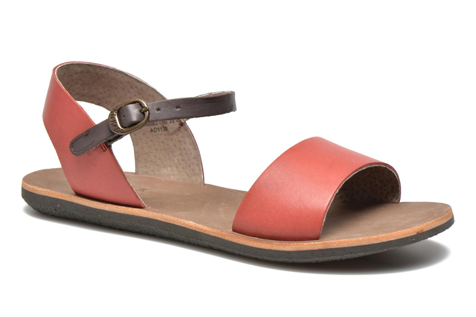 Sandalen Kickers Sparty Rood detail