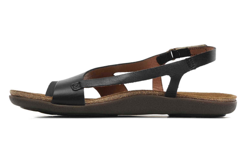 Sandalen Kickers Atomik Zwart voorkant