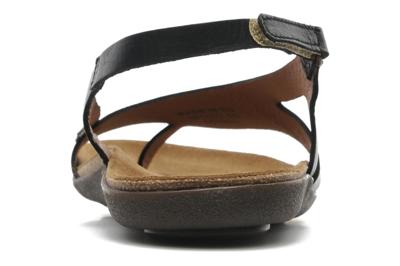 Sandales et nu-pieds Kickers Atomik Noir vue droite