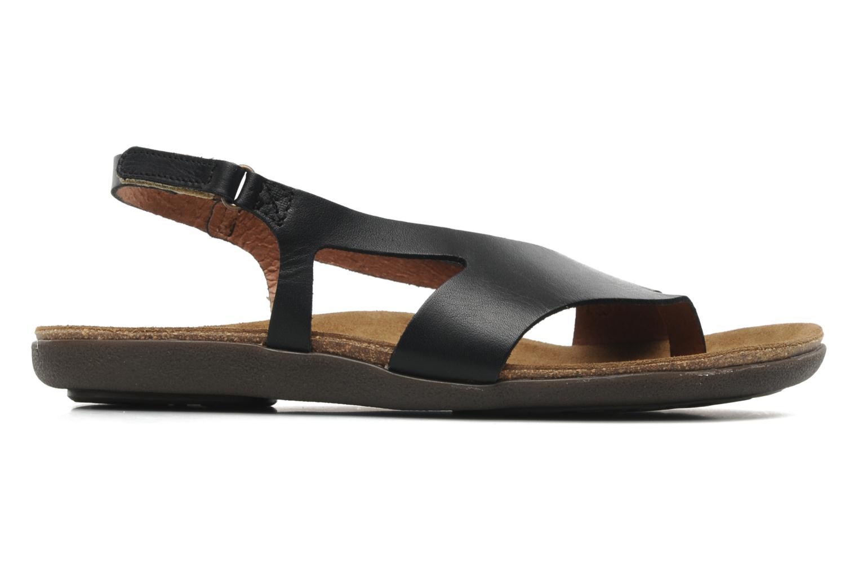 Sandales et nu-pieds Kickers Atomik Noir vue derrière
