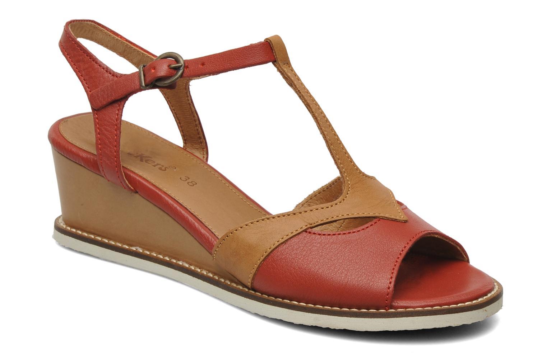 Sandalen Kickers Seshuan rot detaillierte ansicht/modell
