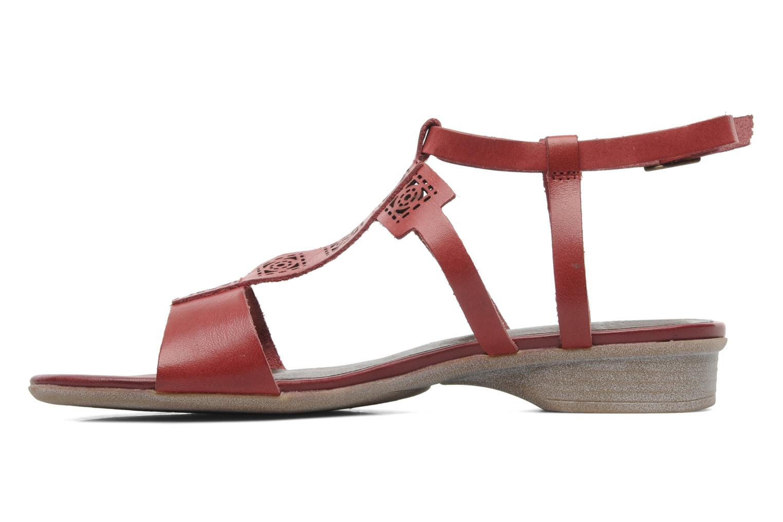 Sandalen Madison Runa rot ansicht von vorne