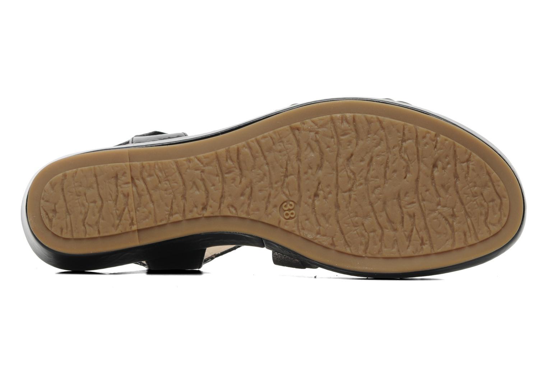 Sandales et nu-pieds Madison Enna Noir vue haut