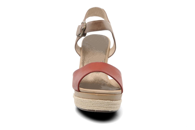 Sandalen Madison Epoki rot schuhe getragen