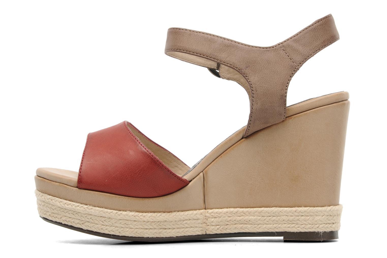 Sandales et nu-pieds Madison Epoki Rouge vue face