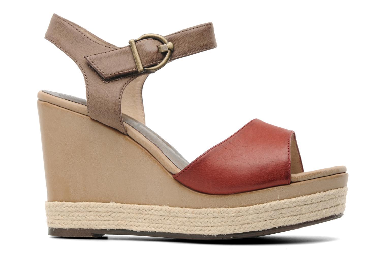Sandales et nu-pieds Madison Epoki Rouge vue derrière