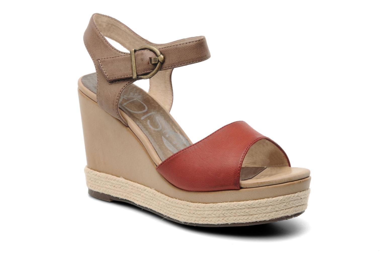 Sandales et nu-pieds Madison Epoki Rouge vue détail/paire