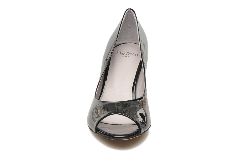 Escarpins Perlato Polka Noir vue portées chaussures