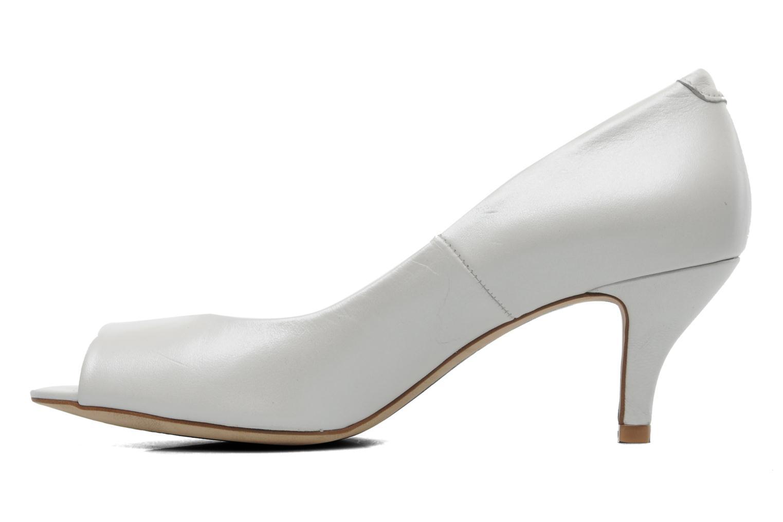 Zapatos de tacón Perlato Poshy Blanco vista de frente