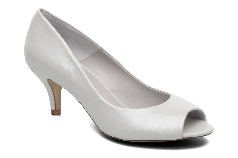 Zapatos de tacón Perlato Poshy Blanco vista de detalle / par