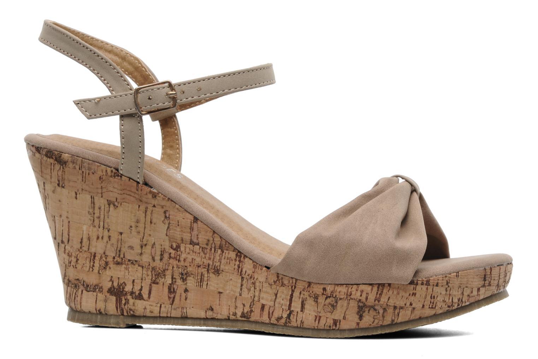 Sandalen Latinas Perla beige ansicht von hinten