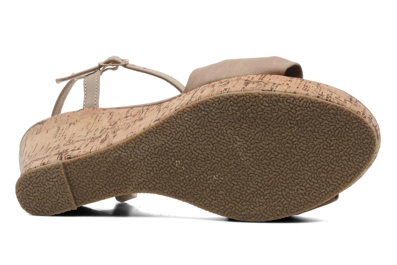 Sandalen Latinas Perla beige ansicht von oben