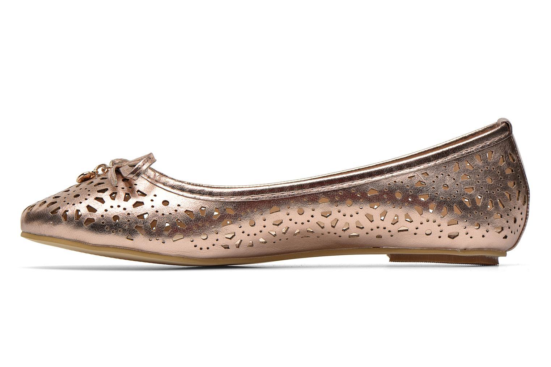 Ballerina's Latinas Bila Goud en brons voorkant