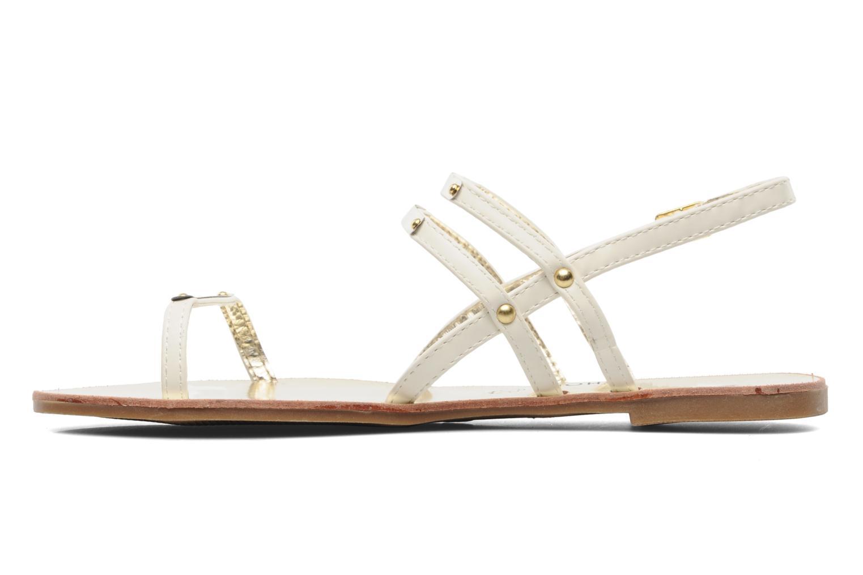 Sandals Latinas Binta White front view