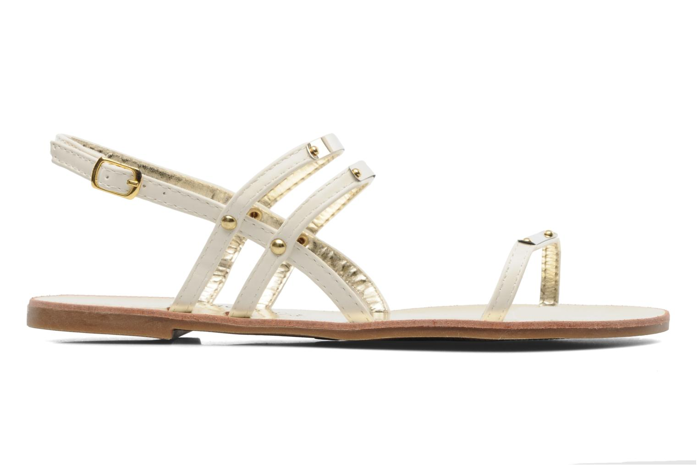 Sandales et nu-pieds Latinas Binta Blanc vue derrière