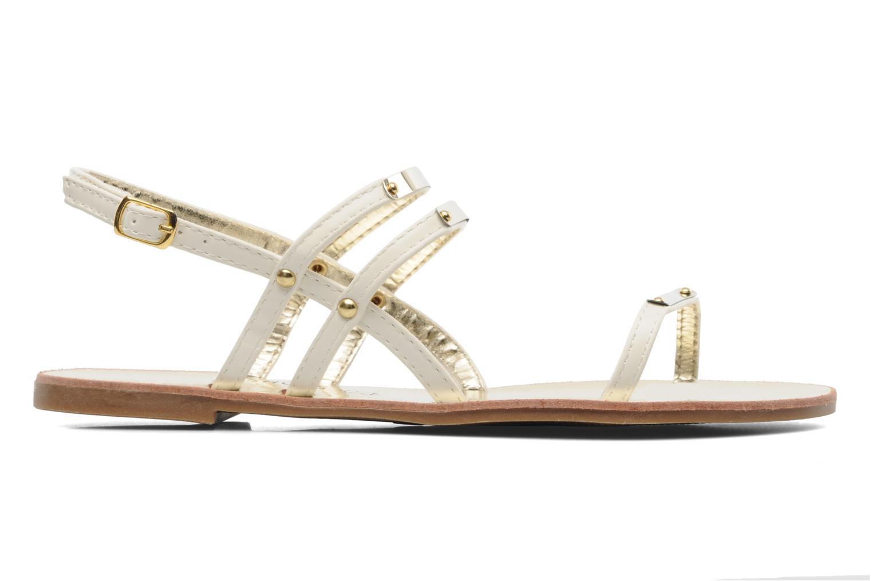Sandals Latinas Binta White back view