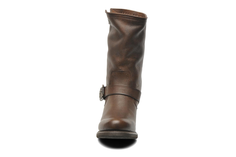 Stiefeletten & Boots Frye Vera Short braun schuhe getragen