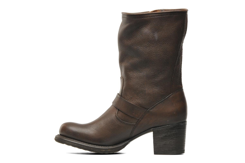 Stiefeletten & Boots Frye Vera Short braun ansicht von vorne