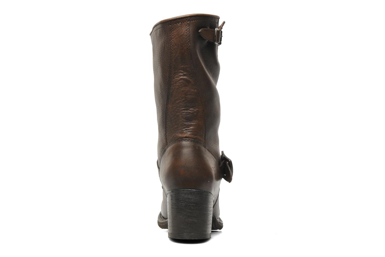 Bottines et boots Frye Vera Short Marron vue droite