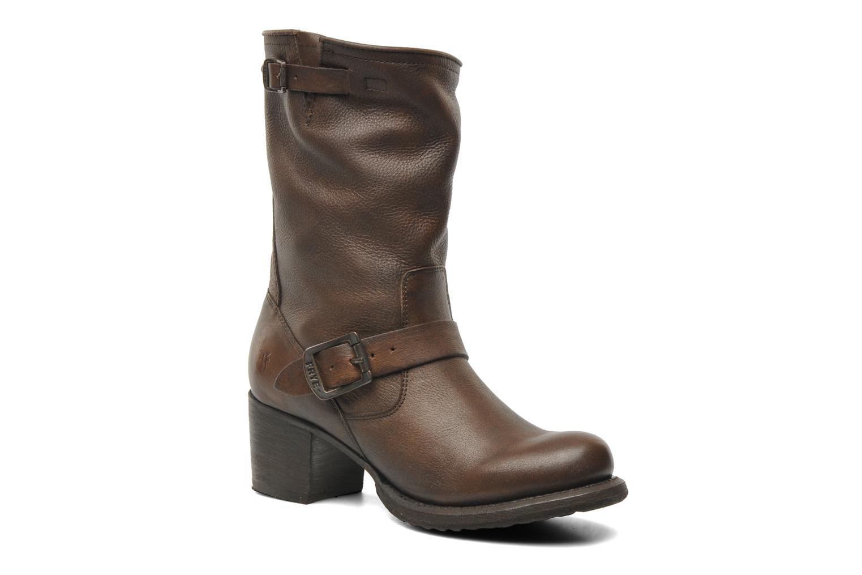 Stiefeletten & Boots Frye Vera Short braun detaillierte ansicht/modell