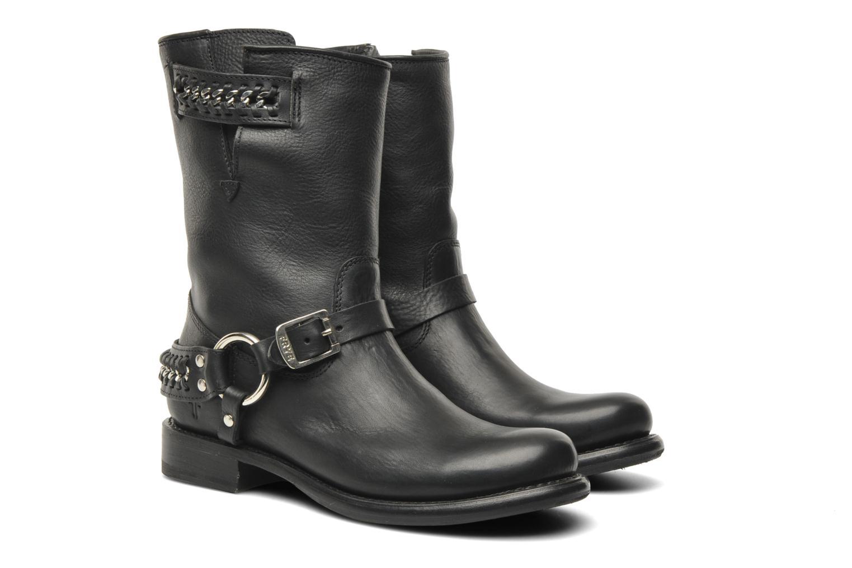 Boots en enkellaarsjes Frye Jenna chain short Zwart 3/4'