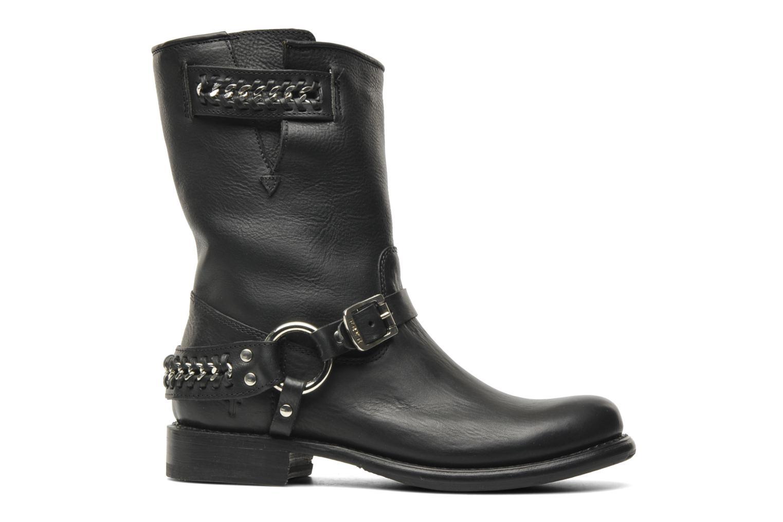 Boots en enkellaarsjes Frye Jenna chain short Zwart achterkant