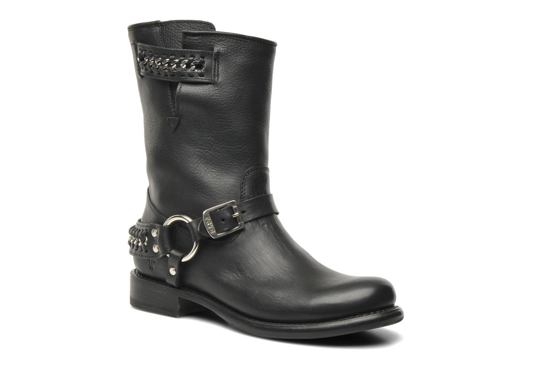 Boots en enkellaarsjes Frye Jenna chain short Zwart detail