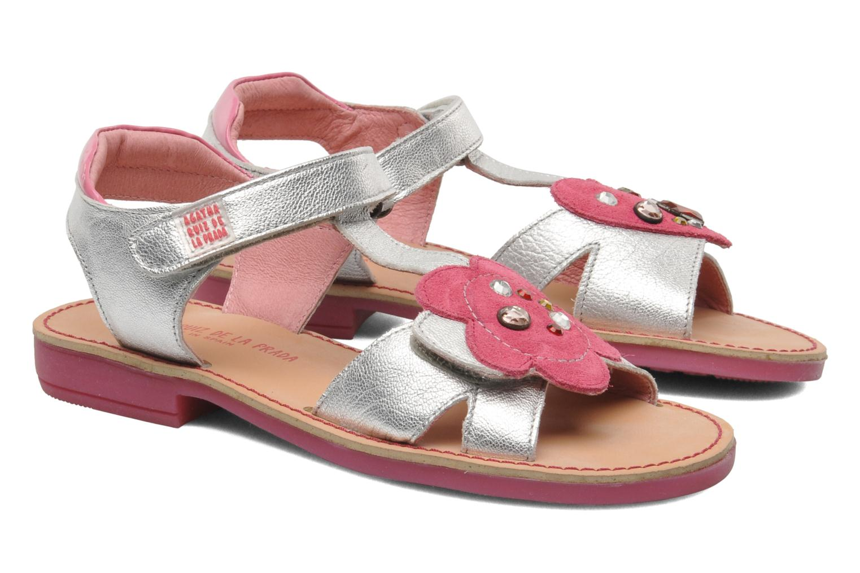 Sandales et nu-pieds Agatha Ruiz de la Prada Anthyllis Argent vue 3/4
