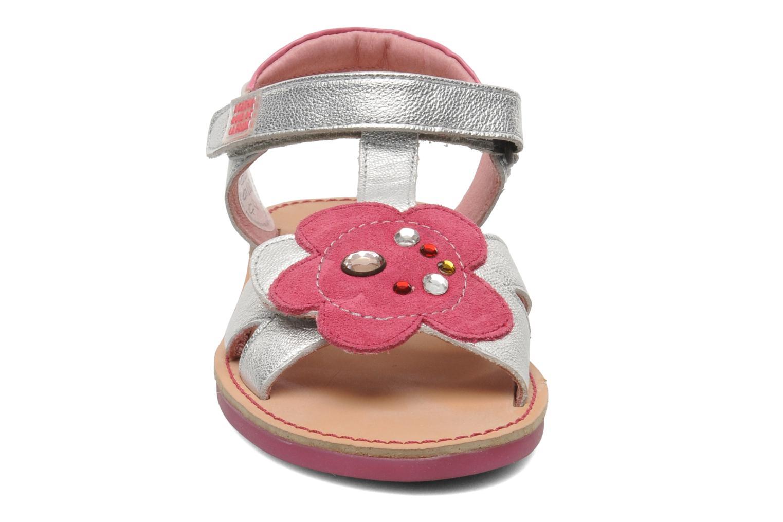 Sandales et nu-pieds Agatha Ruiz de la Prada Anthyllis Argent vue portées chaussures