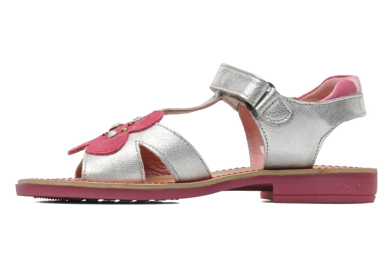 Sandales et nu-pieds Agatha Ruiz de la Prada Anthyllis Argent vue face