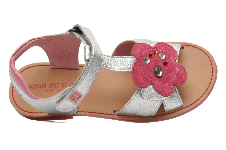 Sandales et nu-pieds Agatha Ruiz de la Prada Anthyllis Argent vue gauche