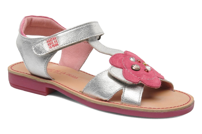 Sandales et nu-pieds Agatha Ruiz de la Prada Anthyllis Argent vue détail/paire