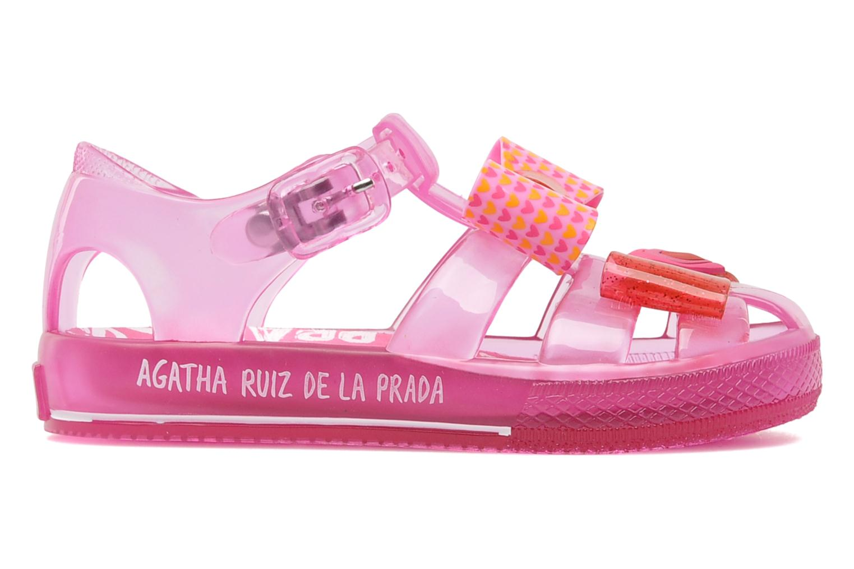 Sandalen Agatha Ruiz de la Prada Arnica rosa ansicht von hinten