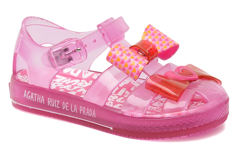 Sandales et nu-pieds Agatha Ruiz de la Prada Arnica Rose vue détail/paire