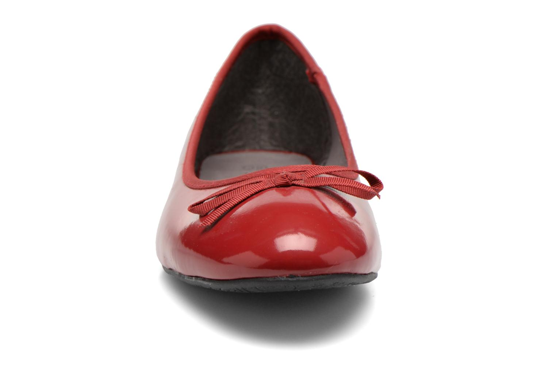 Ballerinas Elizabeth Stuart Castel 813 rot schuhe getragen