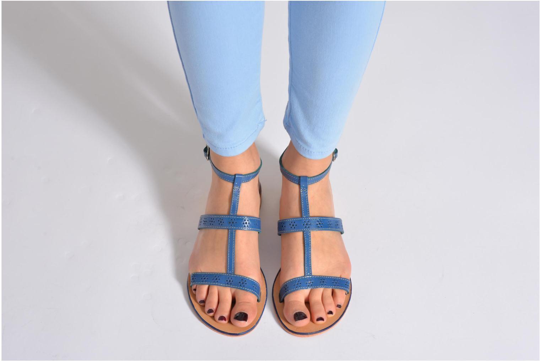Sandales et nu-pieds Elizabeth Stuart Lisa 832 Noir vue bas / vue portée sac