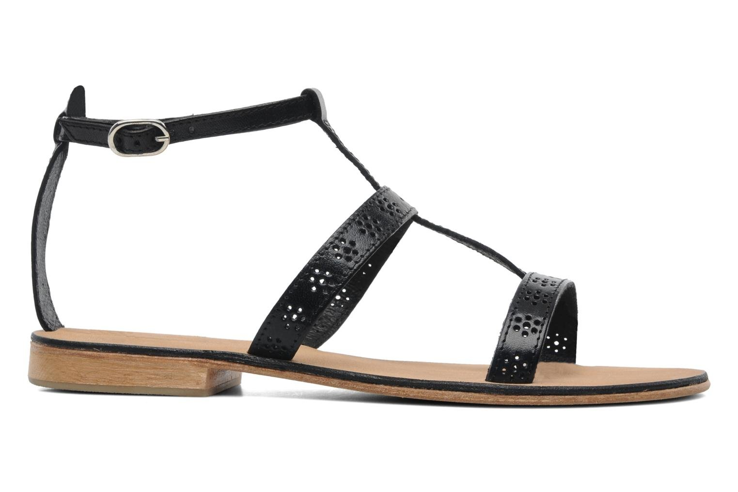 Sandals Elizabeth Stuart Lisa 832 Black back view