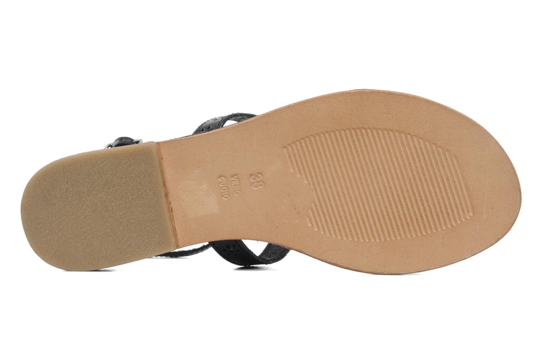 Sandales et nu-pieds Elizabeth Stuart Lisa 832 Noir vue haut