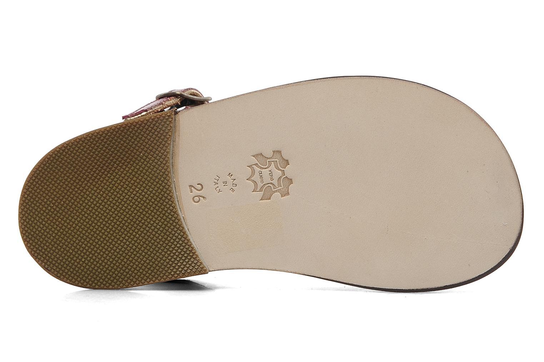 Sandales et nu-pieds PèPè Cythère Bordeaux vue 3/4