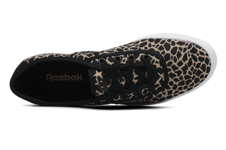 Sneaker Reebok Nc Plimsole schwarz ansicht von links