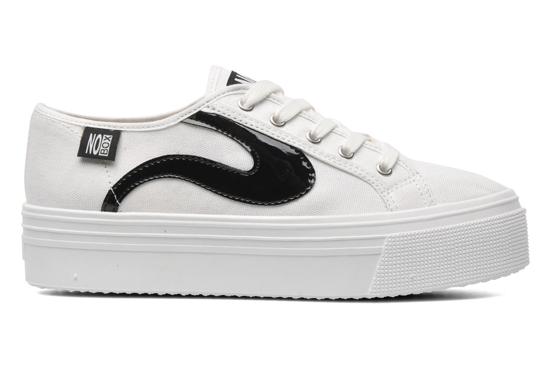 Sneakers No Box Alma Hvid se bagfra