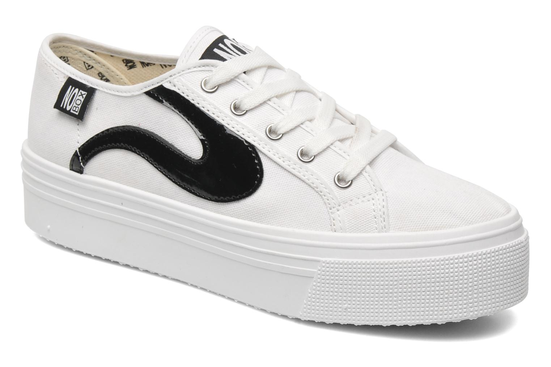 Sneakers No Box Alma Wit detail
