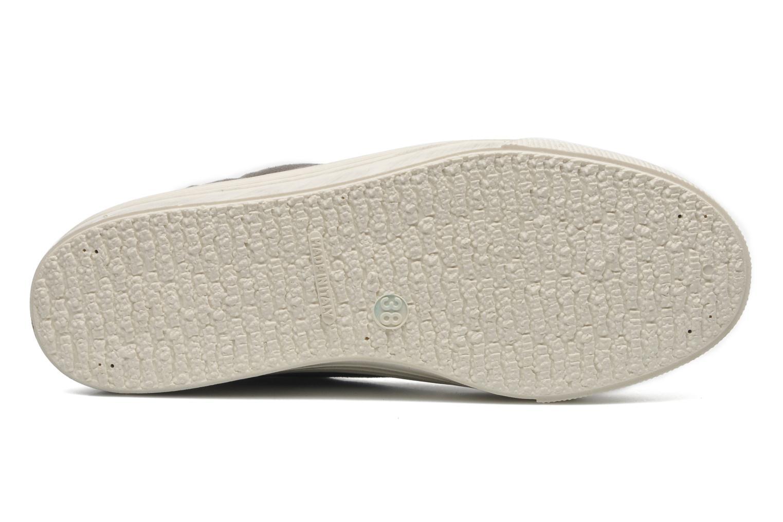 Sneaker No Box Alma grau ansicht von oben